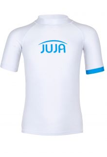 JUJA---UV-Swim-shirt-for-kids---short-sleeves---Solid---White