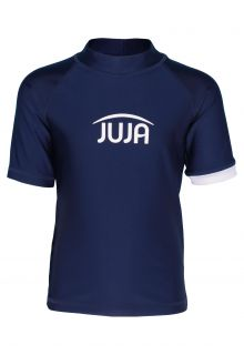 JUJA---UV-Swim-shirt-for-kids---short-sleeves---Solid---Darkblue