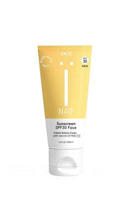Naïf---Natural-sunscreen-face---SPF30---50ml