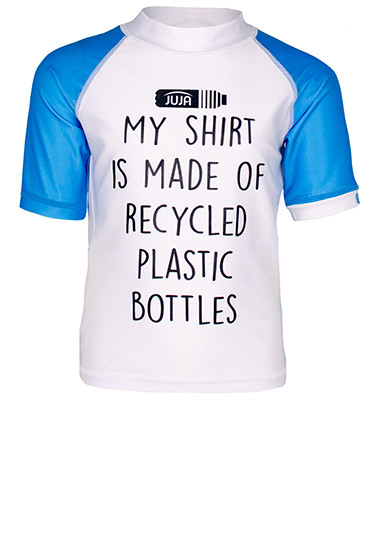 JUJA swim shirt made of recycled plastic